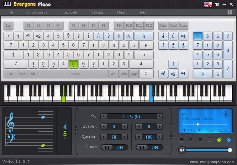 EVERYONE PIANO Software gratis para aprender a tocar