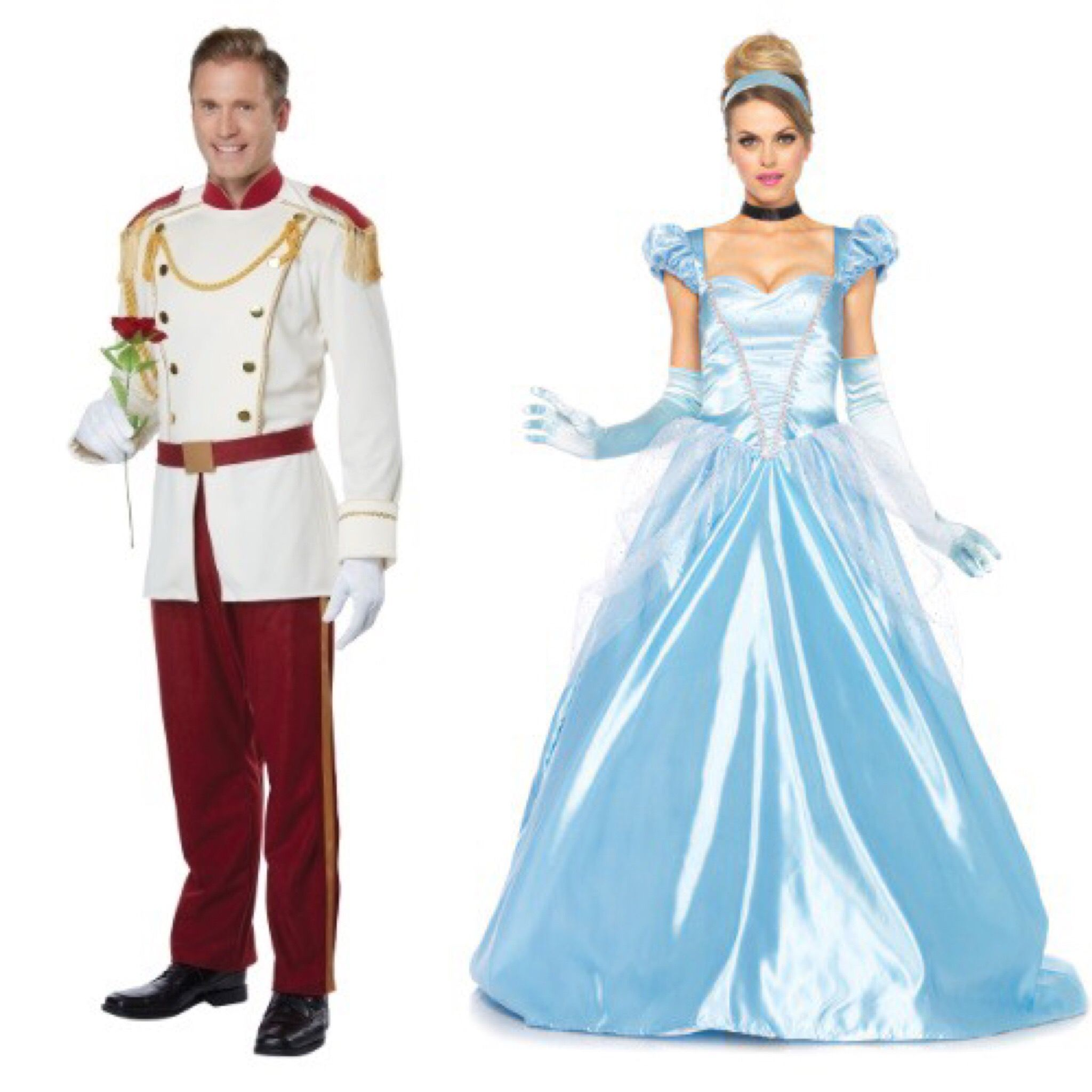 Cinderella and Prince Charming costumes  sc 1 st  Pinterest & Cinderella and Prince Charming costumes | Cinderella | Pinterest ...