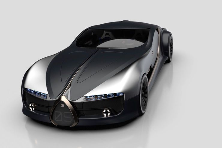 Photo of Bugatti Type 57 T Concept: Allrad-GT mit Galibier-Anleihen