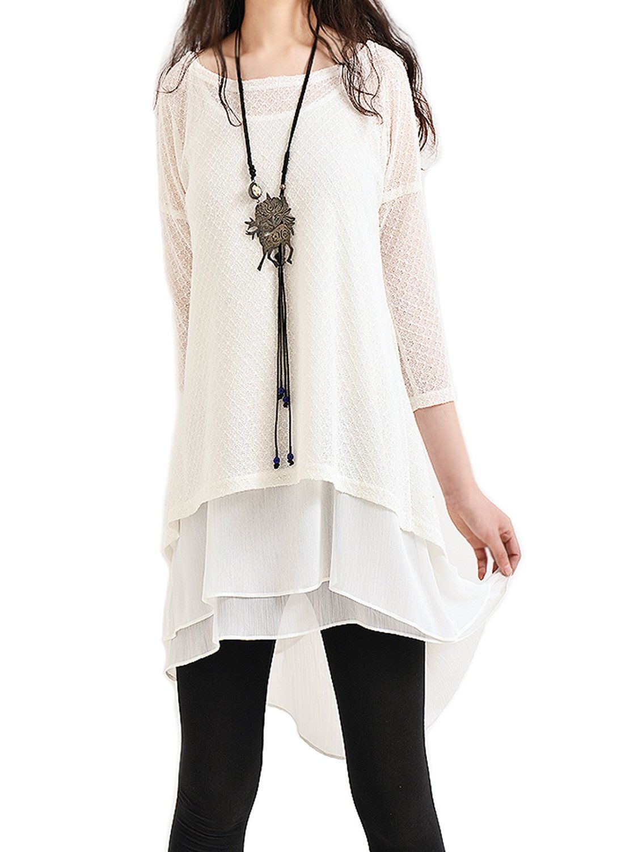 Idea2lifestyle Women's Zen Layered Tunic Dress 'Moroccan Breeze ...