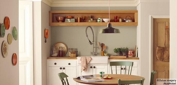 Jasmine White Cupboards Love The Light Vs Woody Ness Overtly Olive Kitchen Natural Hessian Kitchen Jasmine White Cupboard Paint With Images Rustic Modern Kitchen