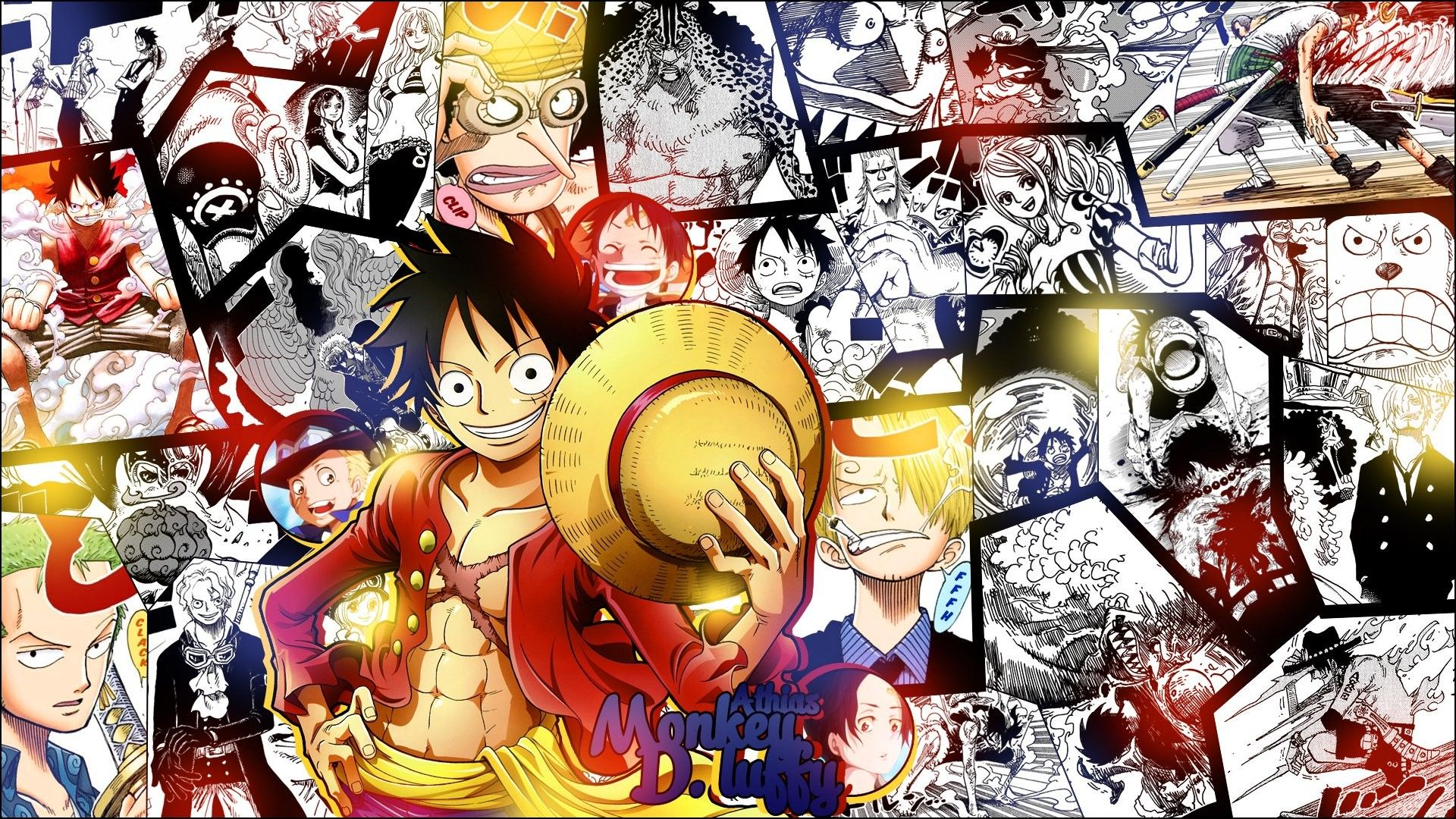 Wow 15 Wallpaper Keren One Piece Hd Di 2020 Animasi Anime Anak Laki Laki Roronoa Zoro