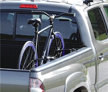 Truck Bed Bike Rack For Standard Truck Rails Inno