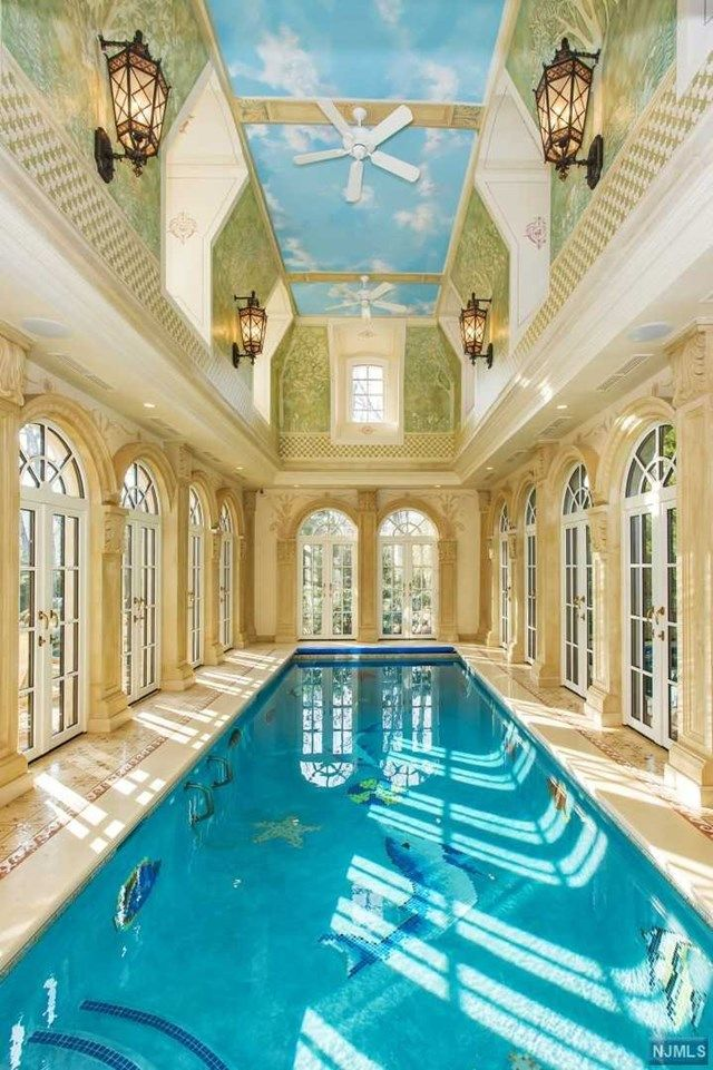 78 Roberts Englewood Cliffs Nj 07632 Indoor Swimming Pools Real Estate Englewood Cliffs