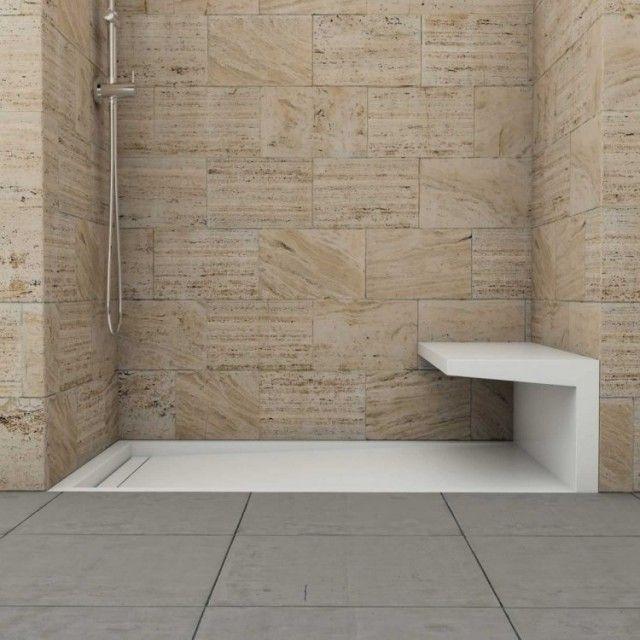 Douche à lu0027italienne encastrable- 50 salles de bains modernes - salle de bain moderne douche italienne