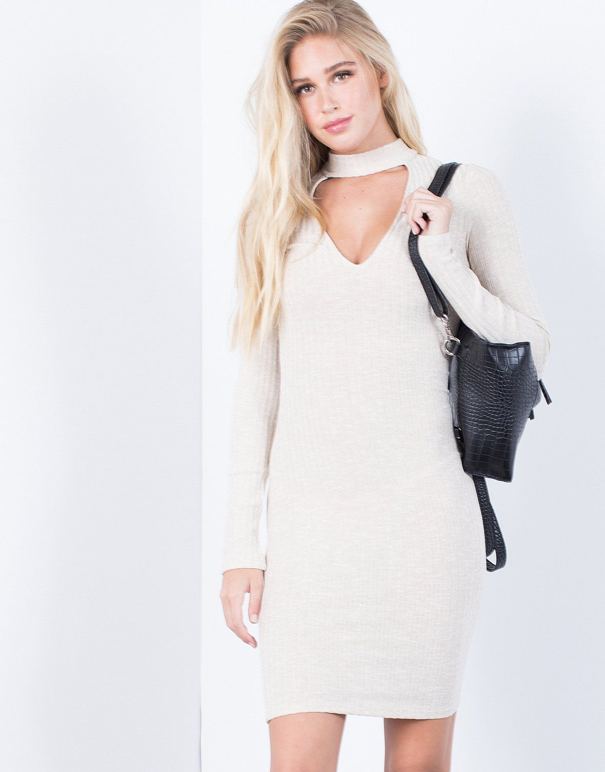5270c6532ded Hold Tight Sweater Dress
