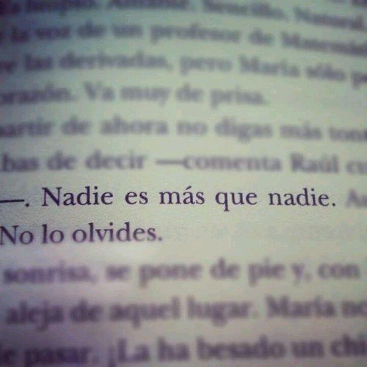 Nadie!