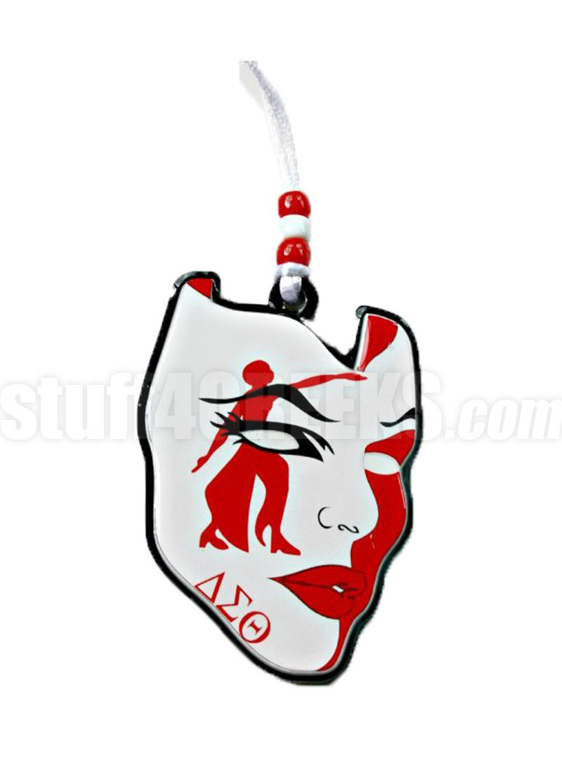 Delta Sigma Theta Lady Fortitude In Mask Tiki Necklace Item Id Pre