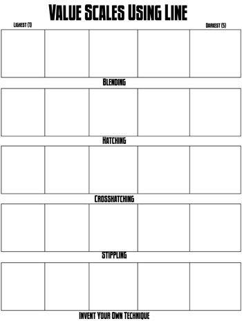 Printables Value Scale Worksheet value scale worksheet davezan bloggakuten