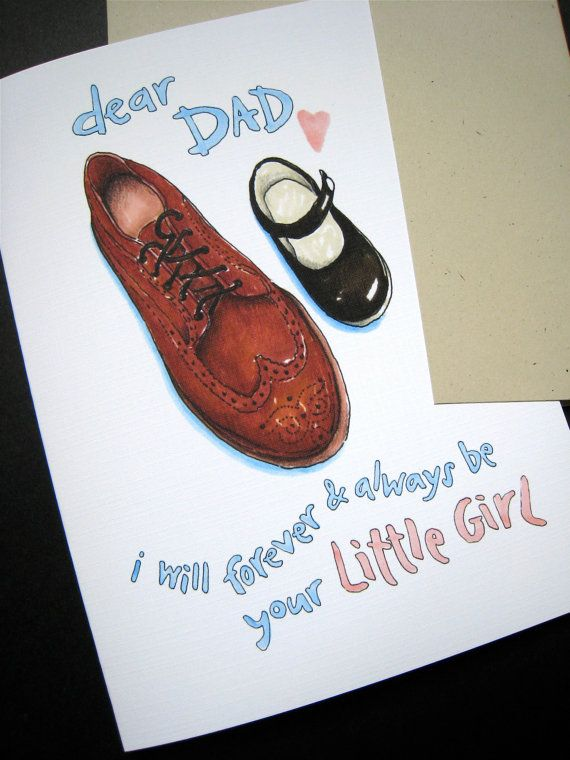 Fathers Day Card. Father Daughter. Wedding Card to by ...