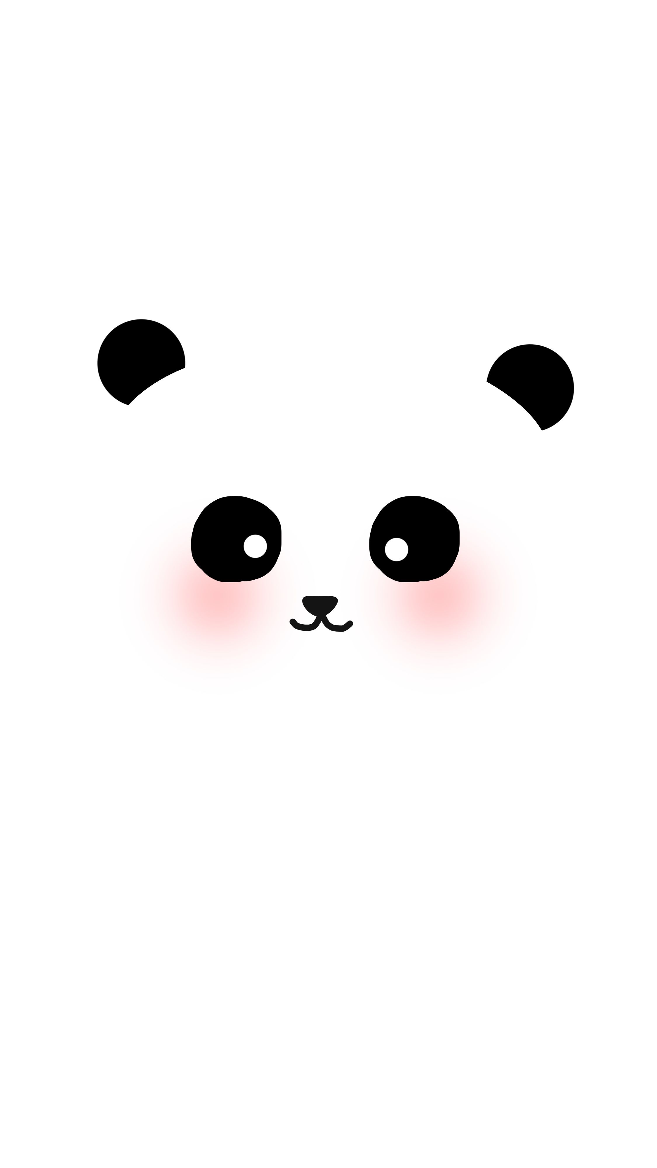"check out my @behance project: ""cute panda & polar bear illustration"