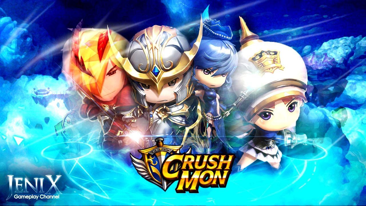 CrushMon Gameplay / RPG / Android / iOS / English