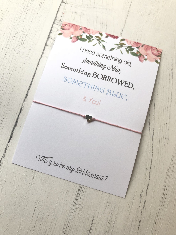Bridemaid Gift Gift For Bridesmaid Bridemaid Bracelet Bridesmaid