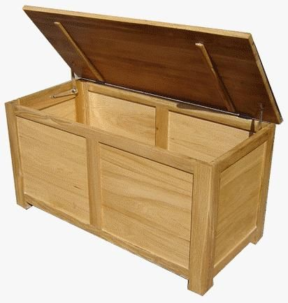 Parkway Oak Blanket Box £129.99