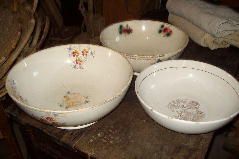 gruppo 3  antiche zuppiere contenitori ceramica ved. besio , musso, mondovi