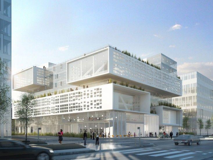 Ensemble immobilier panorama marc mimram paris 13 for Immobilier design paris