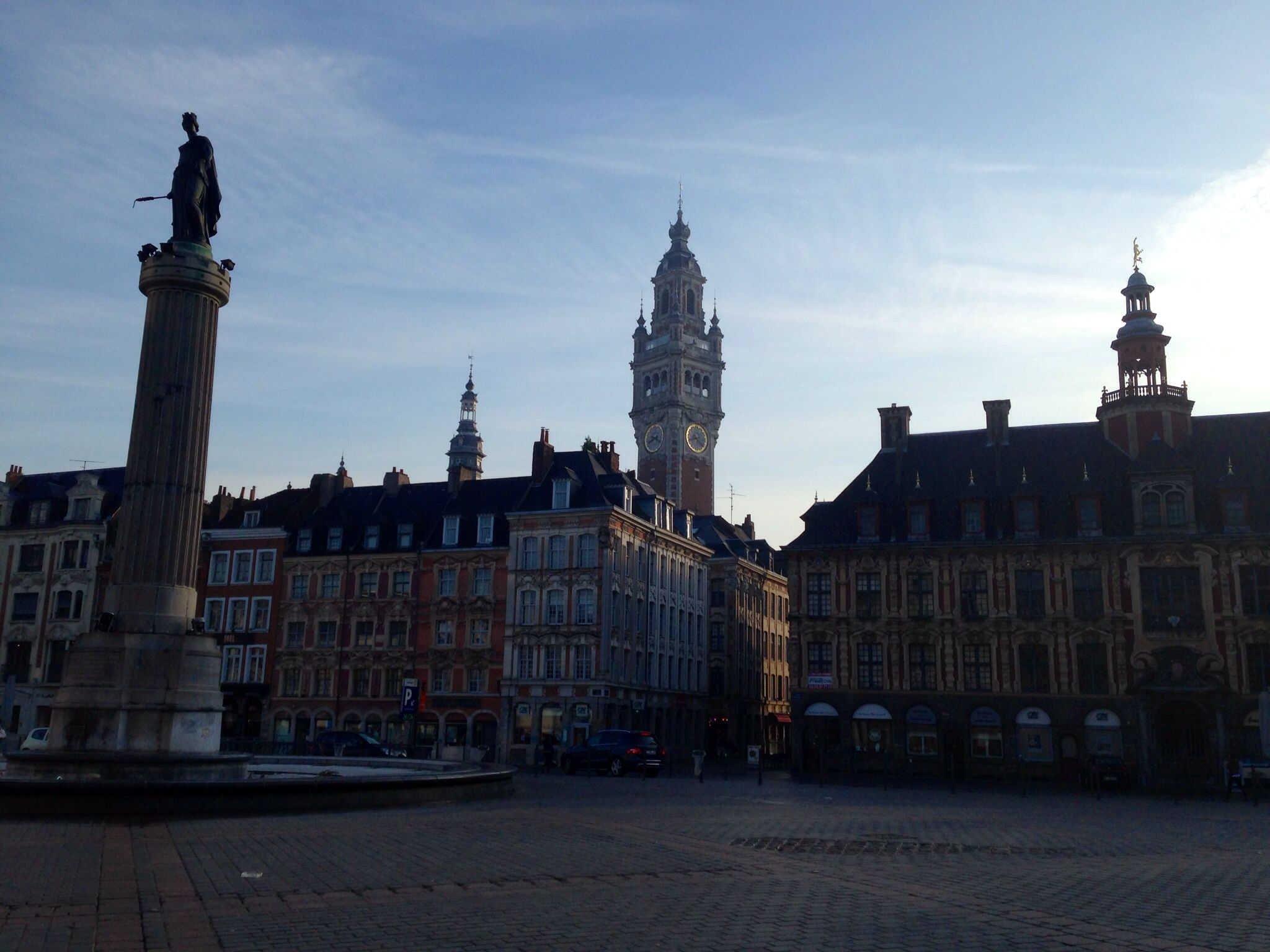 Good morning Lille - grand place de Lille