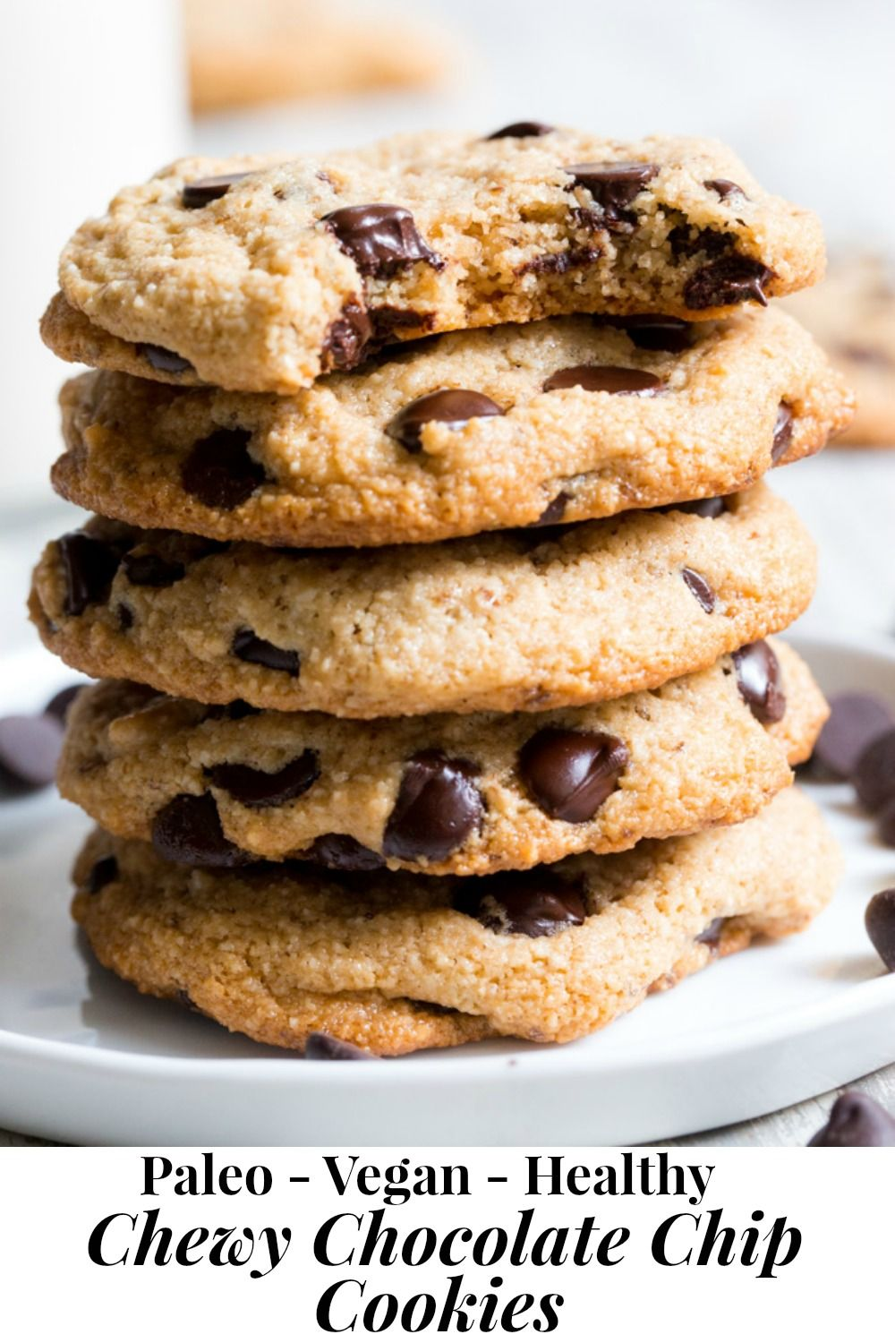 dairy free chocolate chip cookies chewy