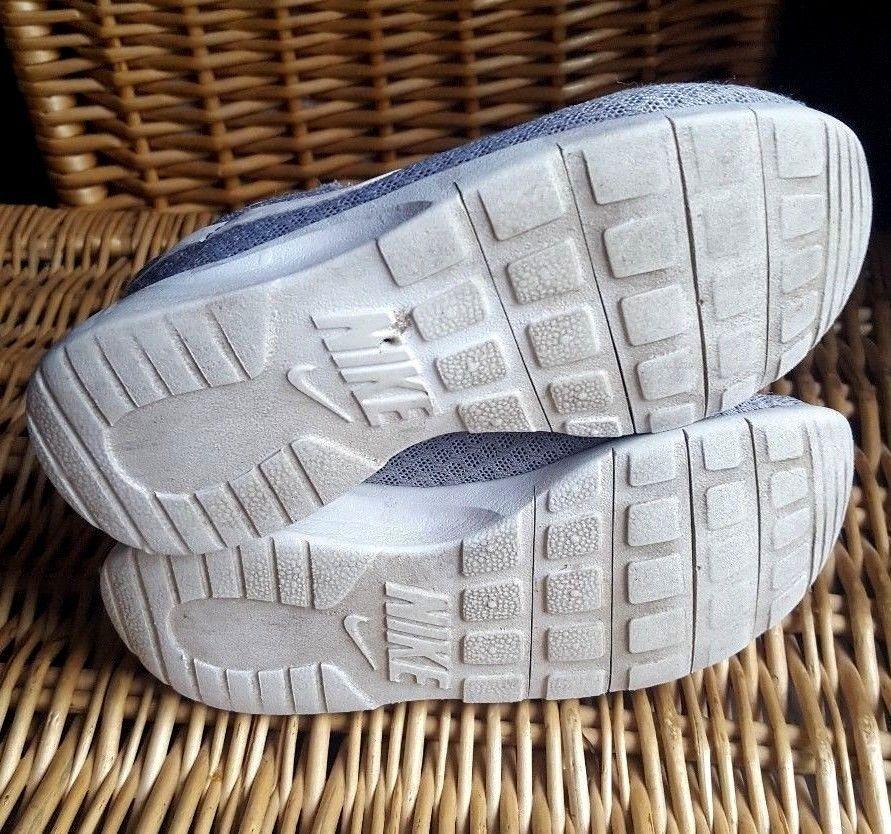 Nike Tanjun Running Wolf Grey Sneaker Mesh Trainers Kids