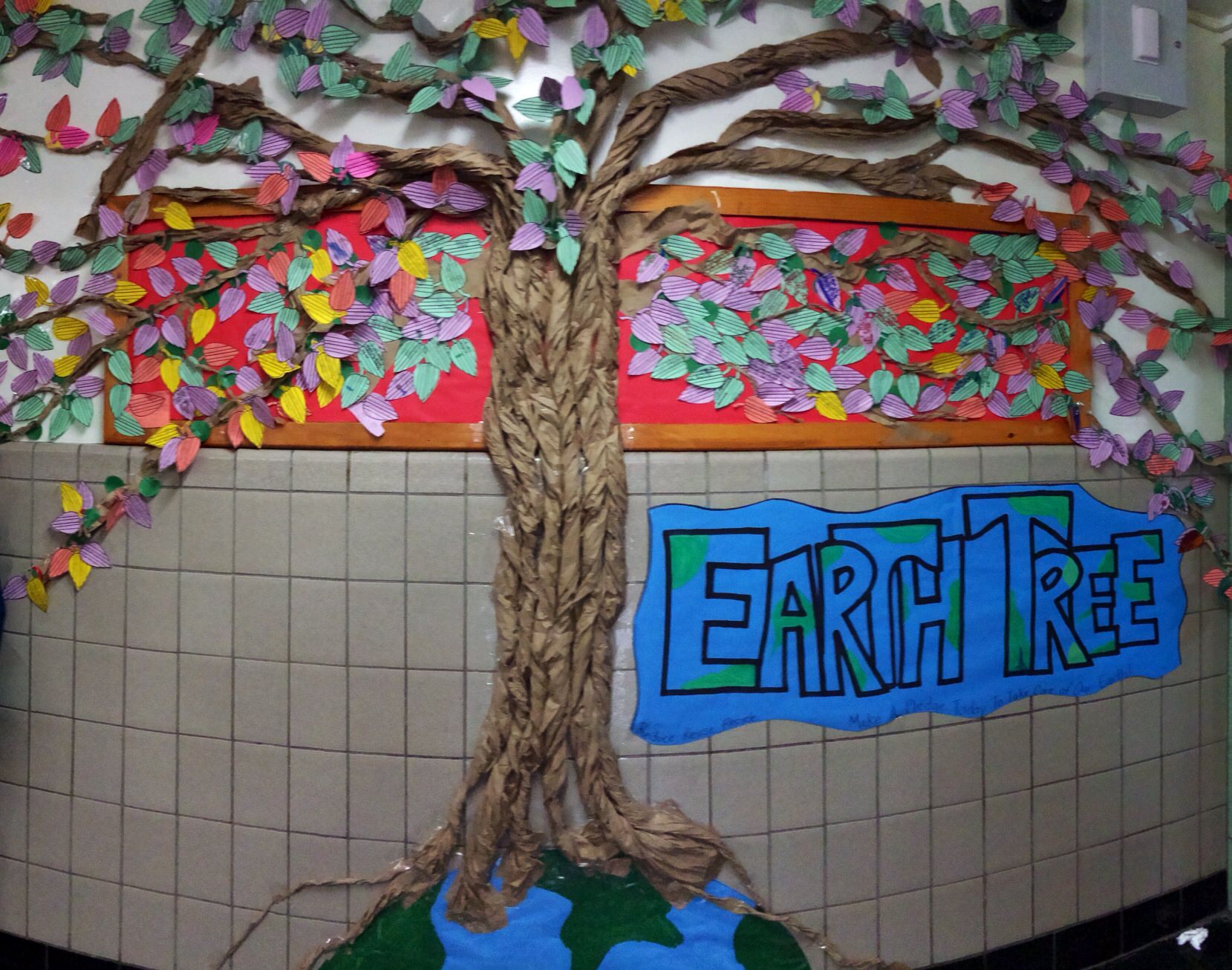 Earth Day Pledges For Our Earth Day Tree