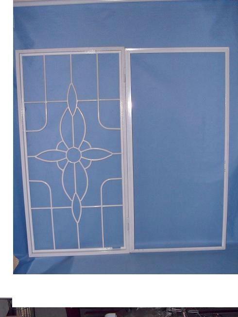 Steel Window Security Window Bar Decorative Window Security Bars