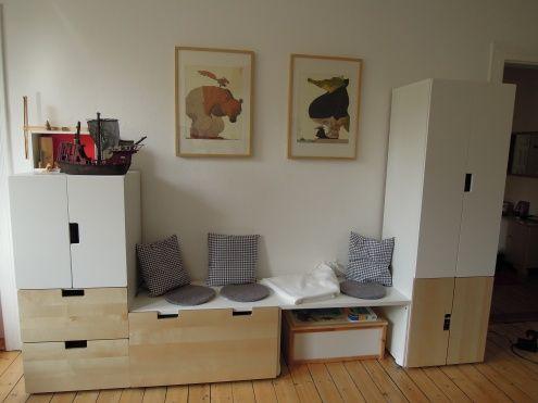 Kinderzimmer junge ikea stuva  neues sohnzimmer | Sitzecke, Wolf und Tags