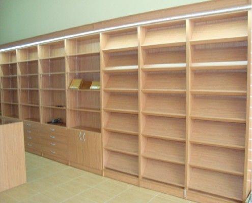 Libreria para papeleria y prensa librerias comercios for Muebles para papeleria