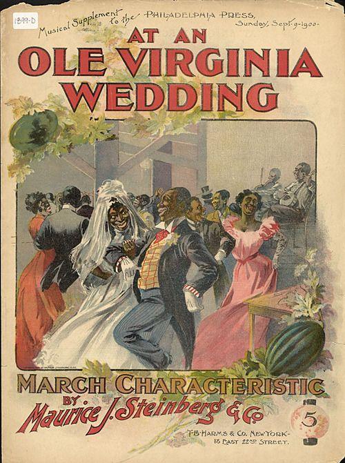 At an ole Virginia wedding