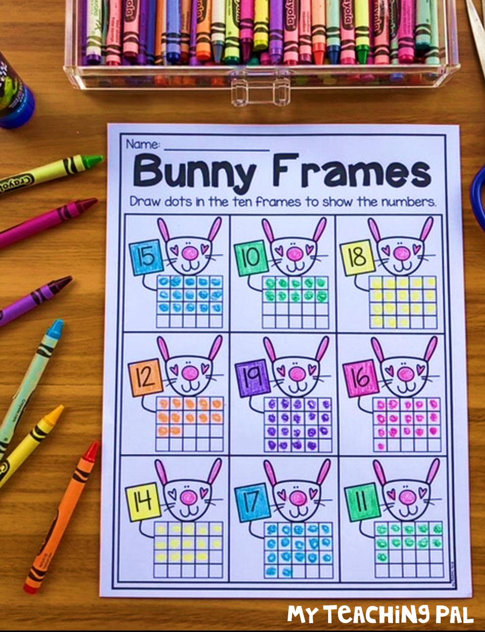 Kindergarten Place Value Worksheets | Number worksheets kindergarten ...