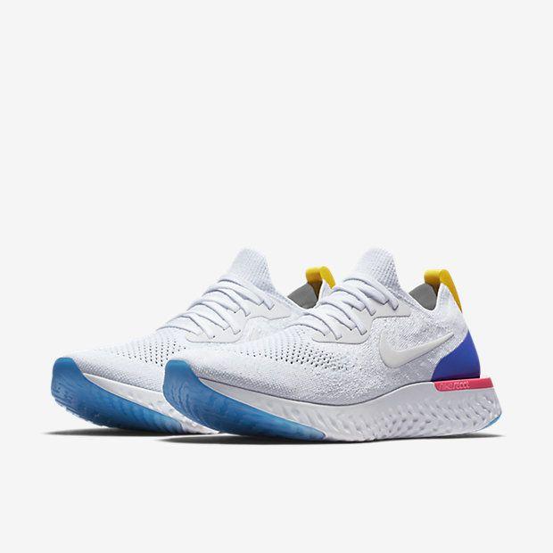 Nike Blanco Epic Reaccionar Flyknit Ootd Blanco Nike Elegante Y Calzado e3633b