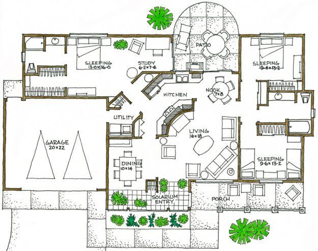 1600 sq foot beach house plans