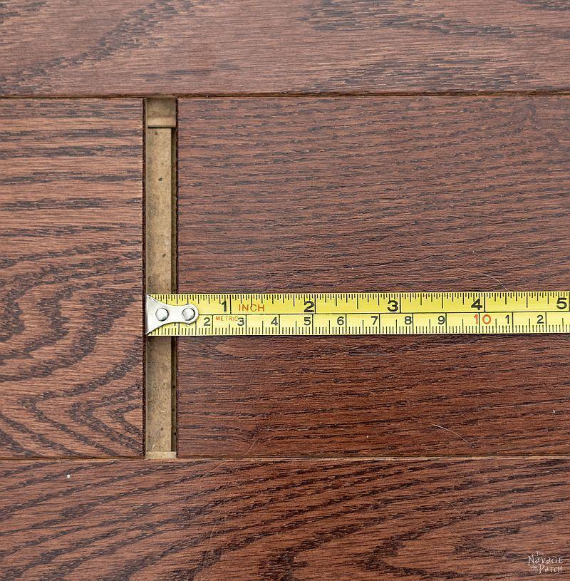 How To Fix Floating Floor Gaps Diy Floor Gap Fixer The Navage Patch Floating Floor Diy Flooring Laminate Flooring Fix
