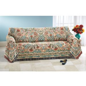 Jacobean Blooms Sofa Cover Furniture Home Decor And Home