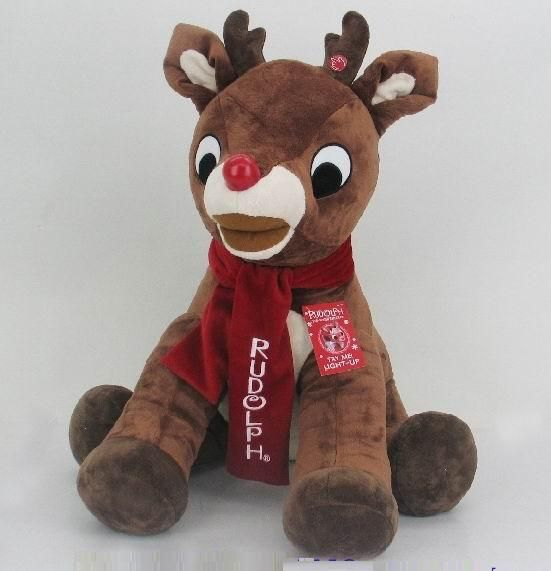 Rudolph 35 In Light Up Plush Available At Costco