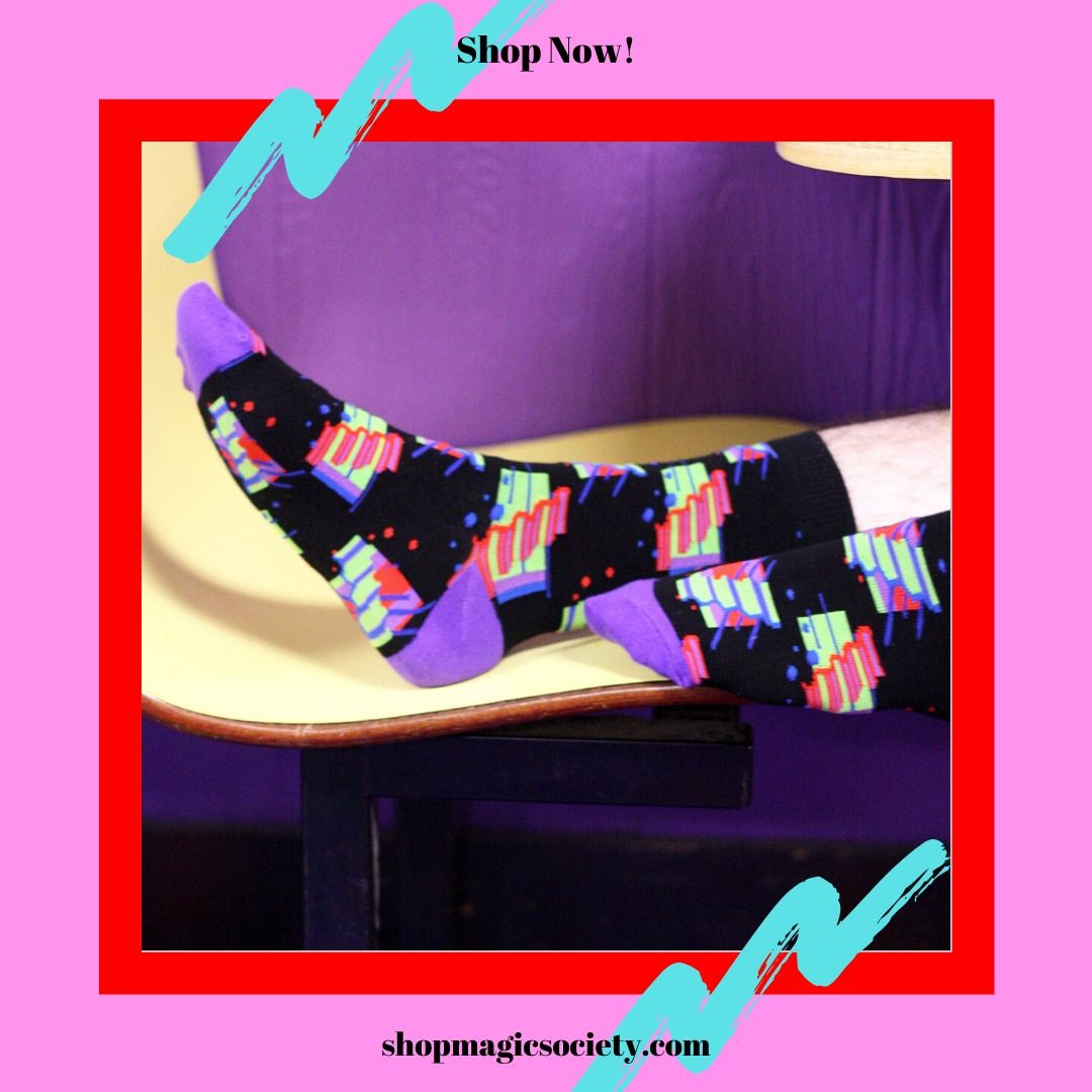 Magic Society Socks In 2020 Fashion Roller Rink Vintage