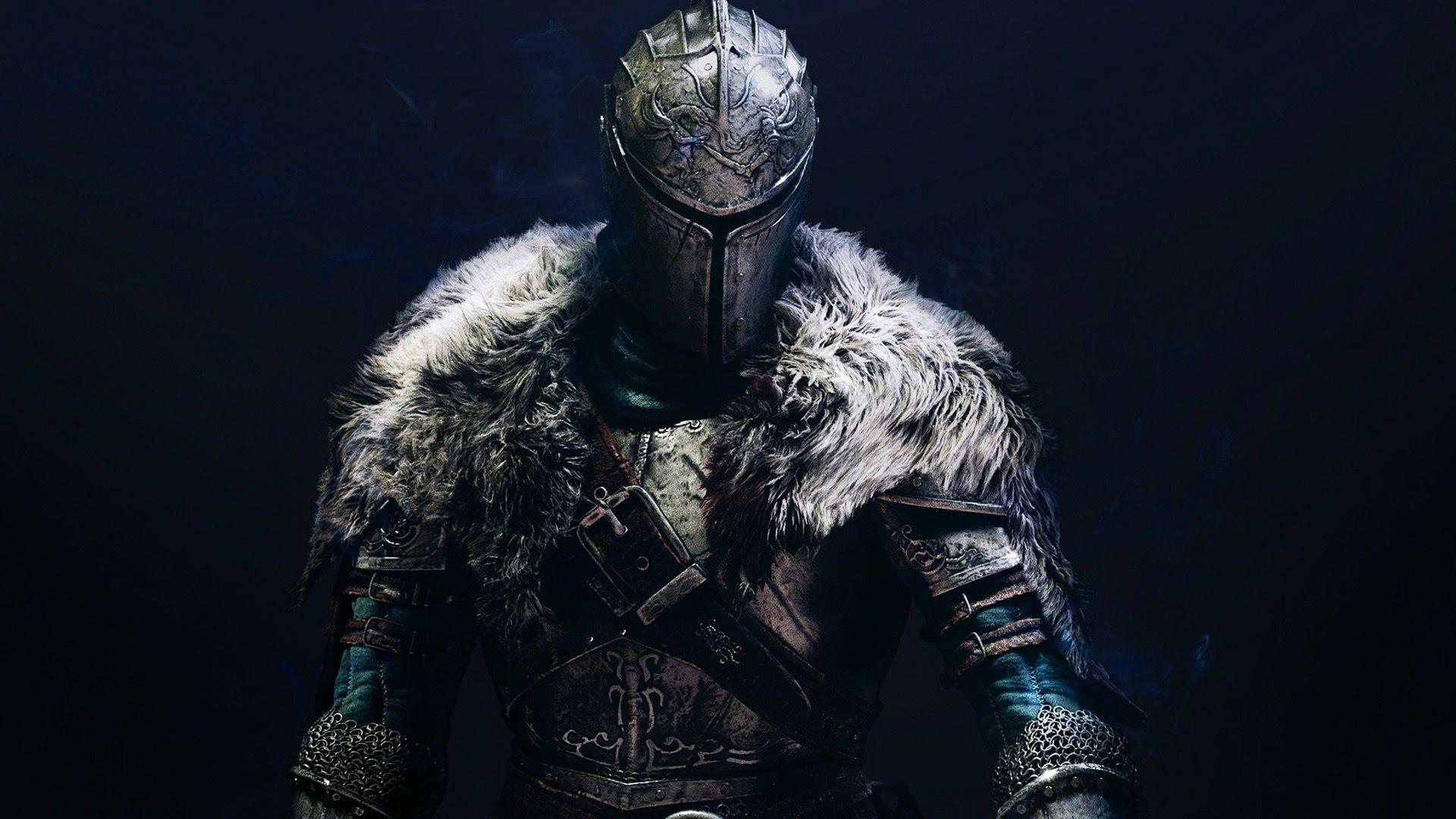 Dark Souls 2, guerreiro, fundo preto Papéis de Parede