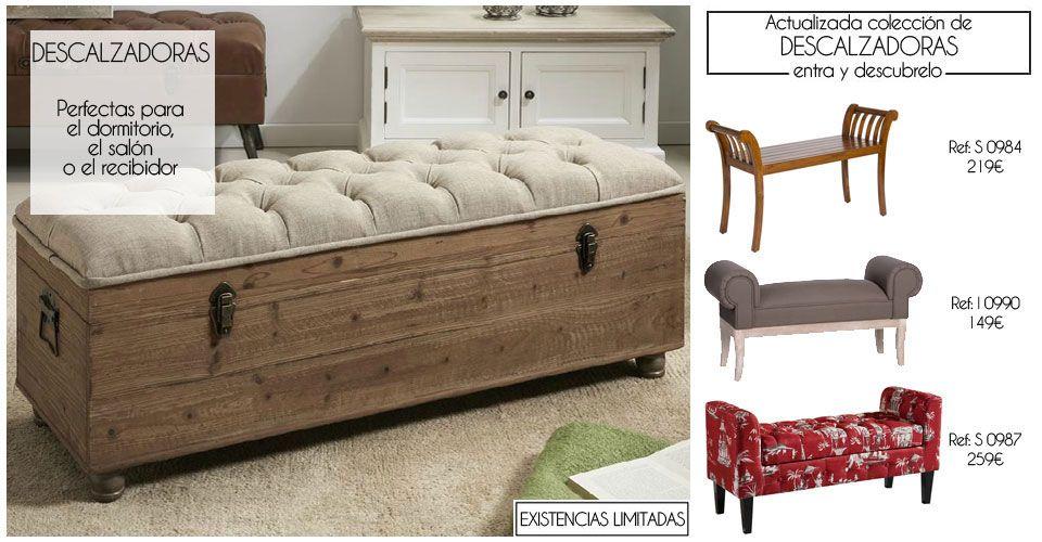 Las descalzadoras son muebles que se utilizan normalmente - Son muebles auxiliares ...