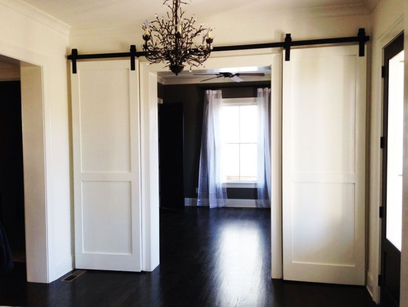 interior barn door ideas in a room barn doors barn door closet double. Black Bedroom Furniture Sets. Home Design Ideas