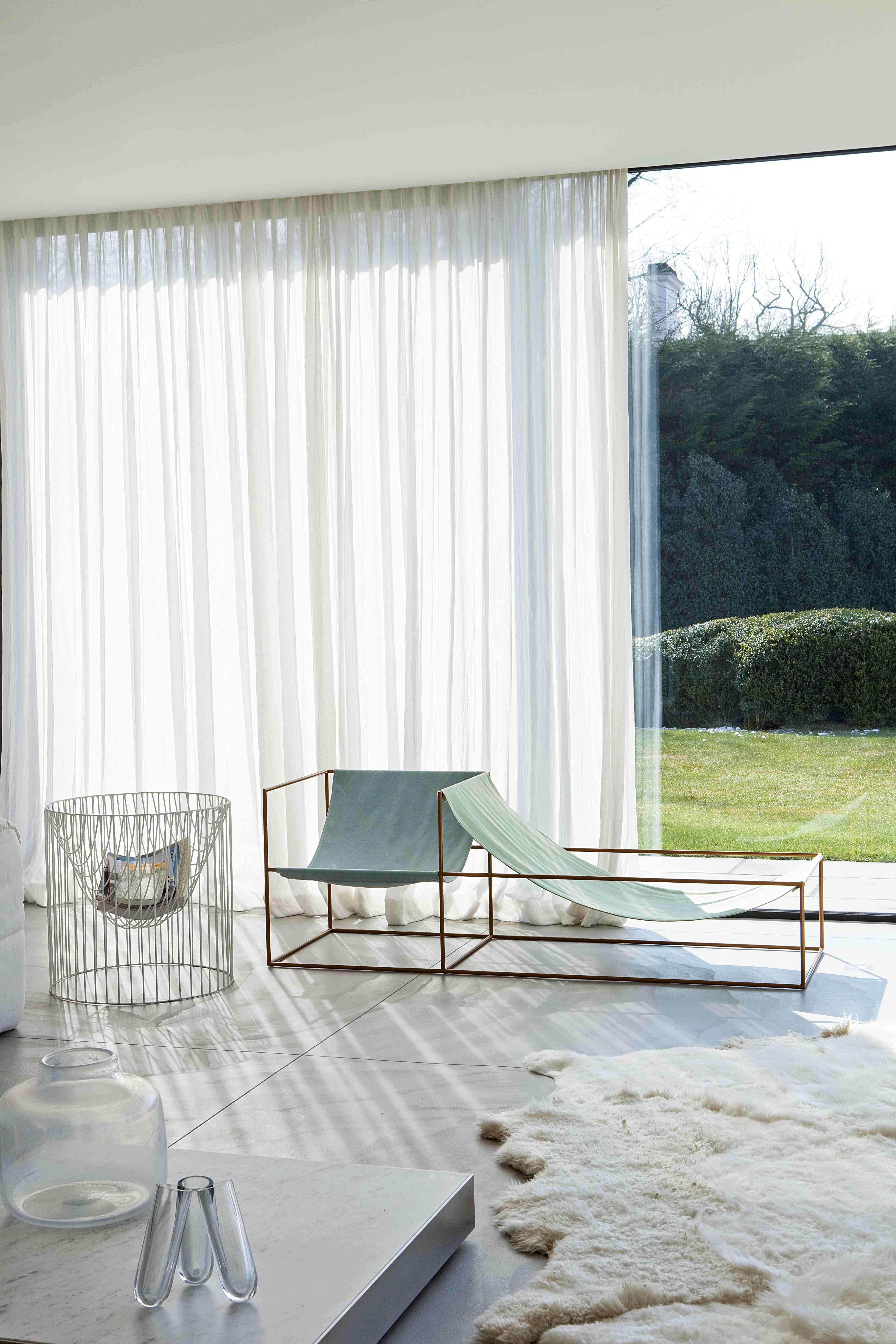 gordijnen p white sheer draperies seat by fien van muller and hannes van