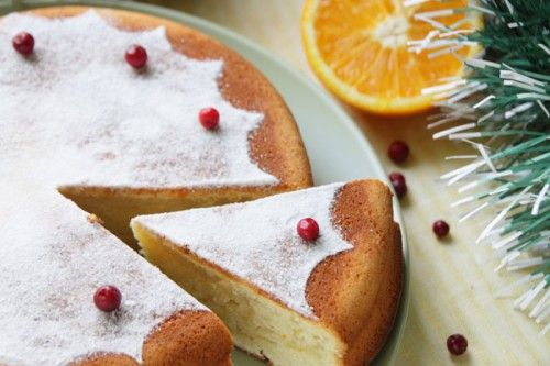 Christmas desserts: the most sweet and beautiful GREEK NEW YEAR'S ORANGE CAKE