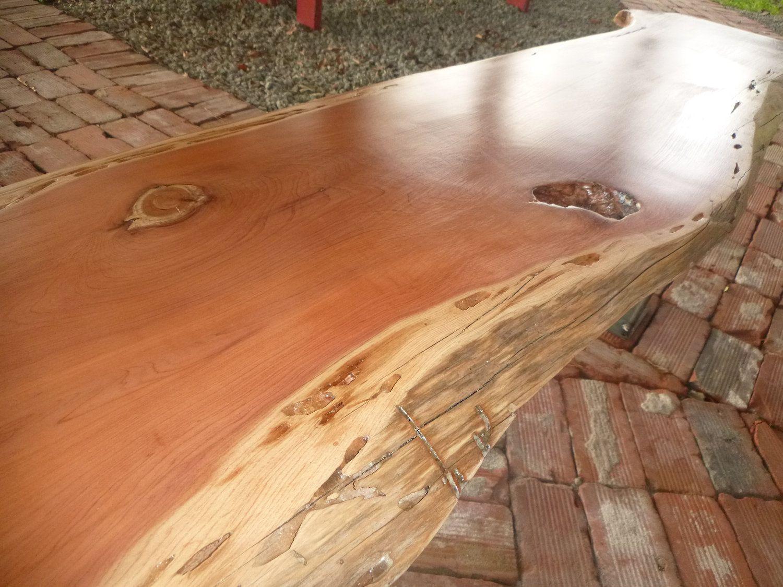 live edge solid hardwood cedar wood slab natural color table top desk top bench top work. Black Bedroom Furniture Sets. Home Design Ideas