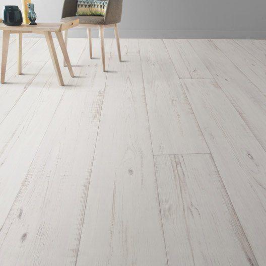 sol vinyle textile keywest blanc coupe