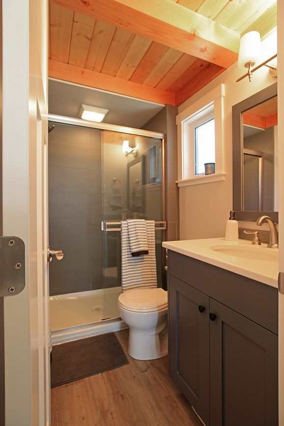 Model Home Bathroom west coast homes | salish park model for wildwood lakefront