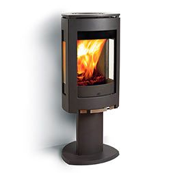 Jøtul F-373 on moderni, muotoilultaan palkittu kamiina. Tulisijaan on saatavissa lasisia ja vuolukivisiä paneeleja, jotka antavat sille erilaisen ulkonäön. Lisälaseilla saadaan aikaan konvektiolämpöä ja alhaisempi lämpötila koko tulisijan ulkopintoihin. Kamiinaan on saatavissa mekanismi, jonka ansiosta tulipesää voi kääntää 360 astetta. Saatavana myös valkoiseksi emaloituna. www.k-rauta.fi