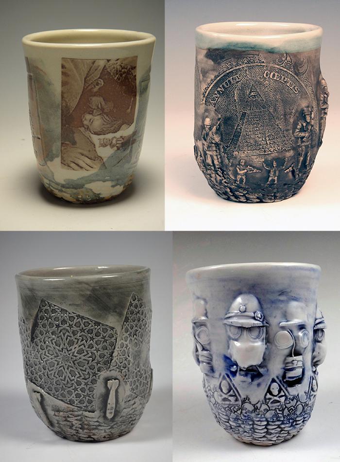 Ehren Tool Meighan O Toole Ceramic Artists Ceramic Art Pottery Cups