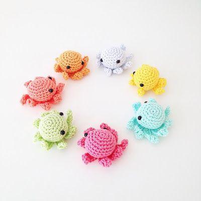 Annemarie's Haakblog: Crochet Octopus #crochetoctopus Annemarie's Haakblog: Crochet Octopus