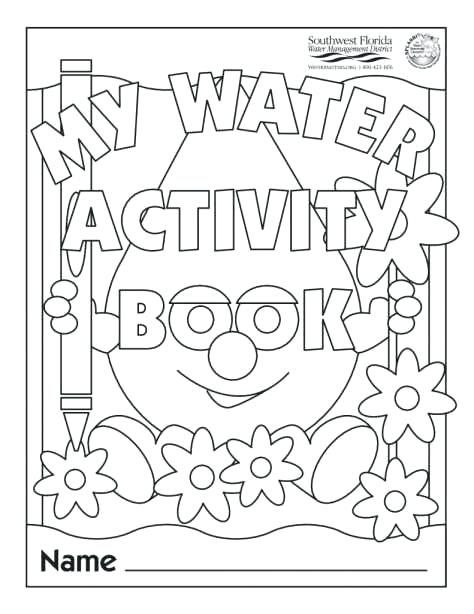 save water worksheets for kindergarten or save water