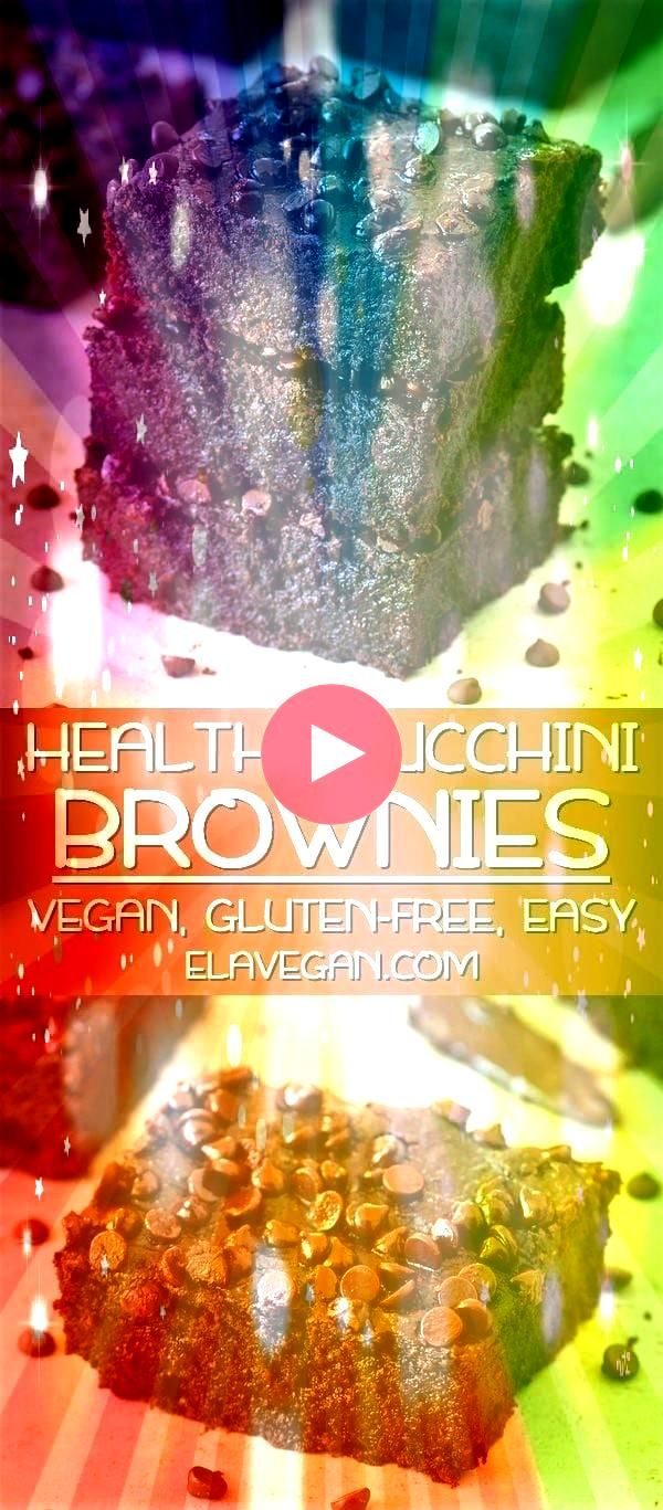 Brownies Vegan Vegan zucchini brownies which are soft moist gooey fudgy and very chocolaty The recipe is plantbased glutenfree easy to make and delicious Enjoy this vegan...