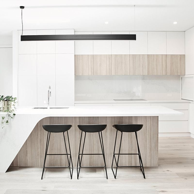 Arden Homes Beaumont 43 Berwick Waters Display Home: Cuisine Moderne, Construire Sa Maison