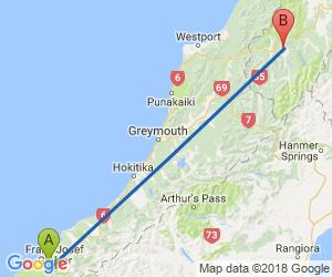 Distance From Franz Josef To Murchison Road Trip Trip New Zealand